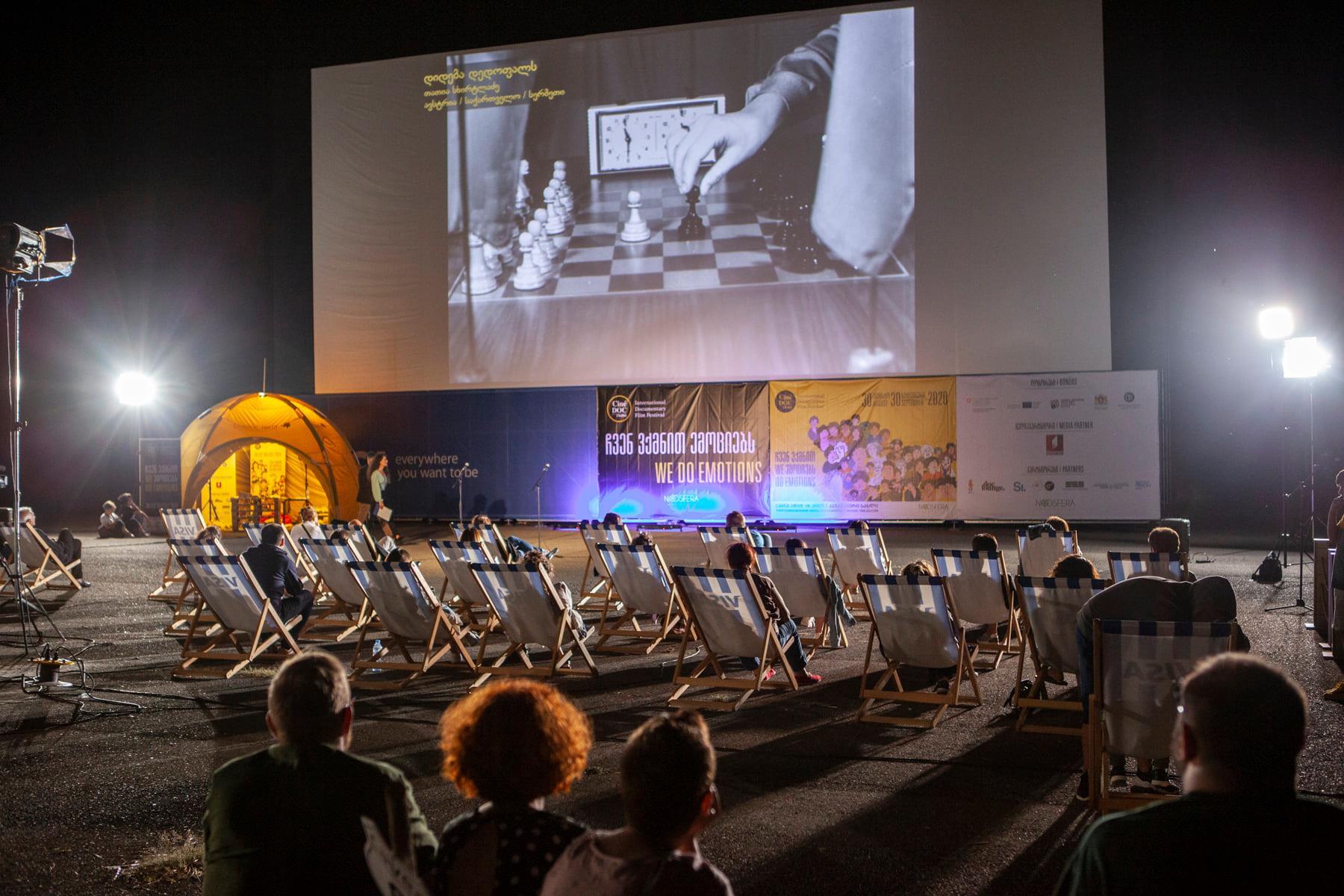Welturaufführung GLORY TO THE QUEEN bei CineDOC-Tbilisi